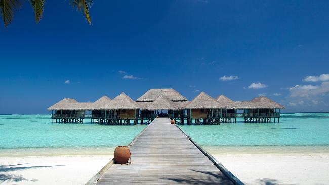 Gili Lankanfushi has two rules — no shoes, no news. Picture: Gili Lankanfushi