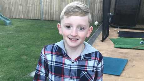 Nine-year-old Lachlan Bond was found dead in his home. Picture: Facebook