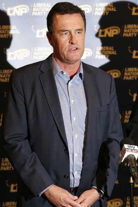 LNP state president Gary Spence