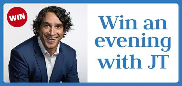 WIN AN EVENING WITH JT