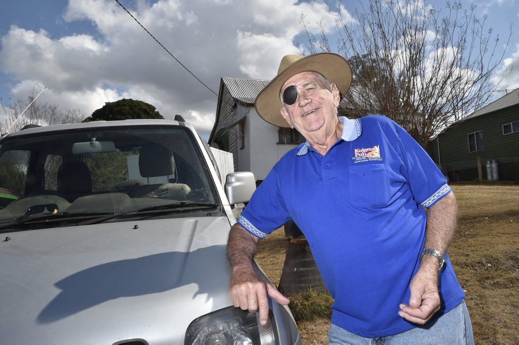 Headed to Birdsville, Dennis Conroy from Helidon is a volunteer for the Birdsville Races. August 2018
