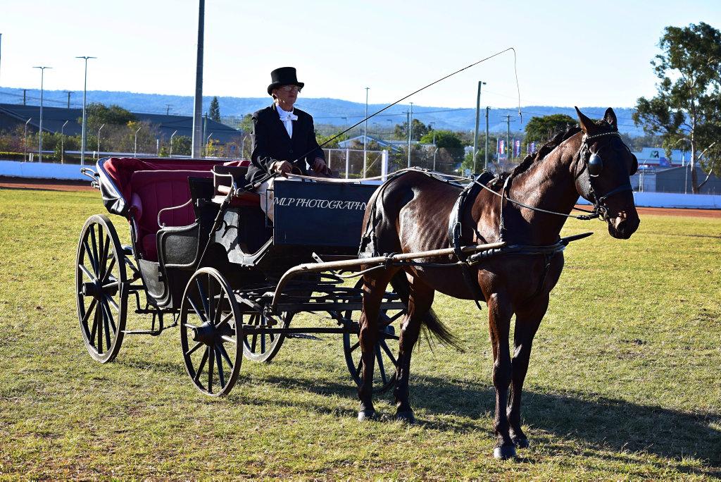 Roslyn Weston with Runaway Train (NZ)