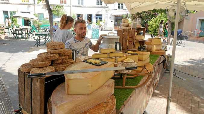 TRAVEL FRANCE: The delicious cheese at the markets in Provence.