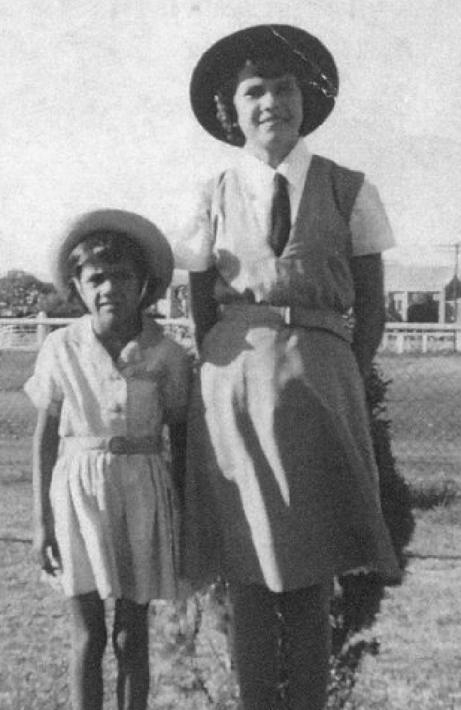 Tjanara Goreng Goreng, (left) then called Pamela Williams, in 1965 a year after she was first raped aged 6.