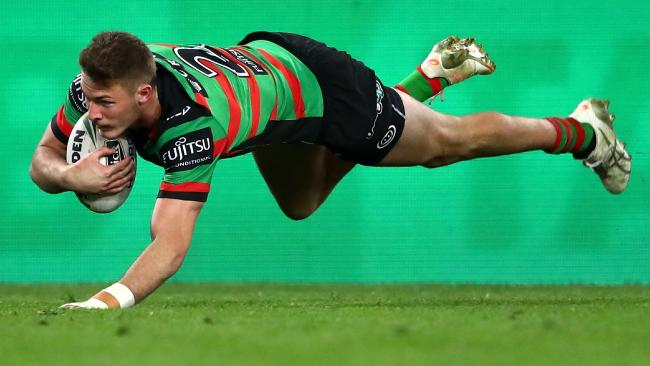South Sydney tore the Tigers apart. Photo by Cameron Spencer/Getty Images.