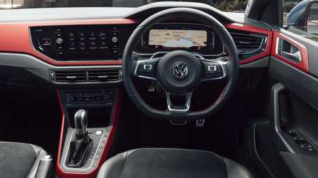 The new interior with the optional digital widescreen instrument display, which has a number of modes including navigation. On the standard car built-in nav appears on the 8-inch infotainment screen. Picture: Supplied.