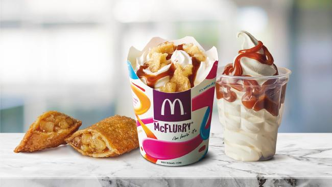 The McDonald's Apple Pie McFlurry.