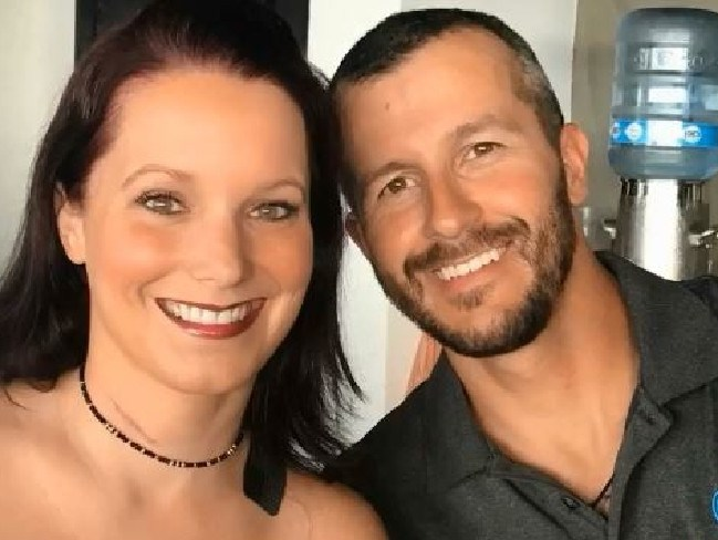 Chris Watts and Shanann Watts. An unidentified man alleges that Watts lived a double life and struggled with his sexuality. Picture: Supplied