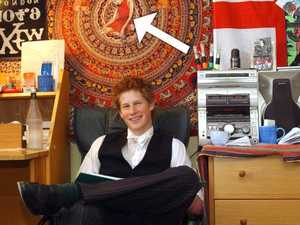 Revealing detail in Prince Harry's bedroom