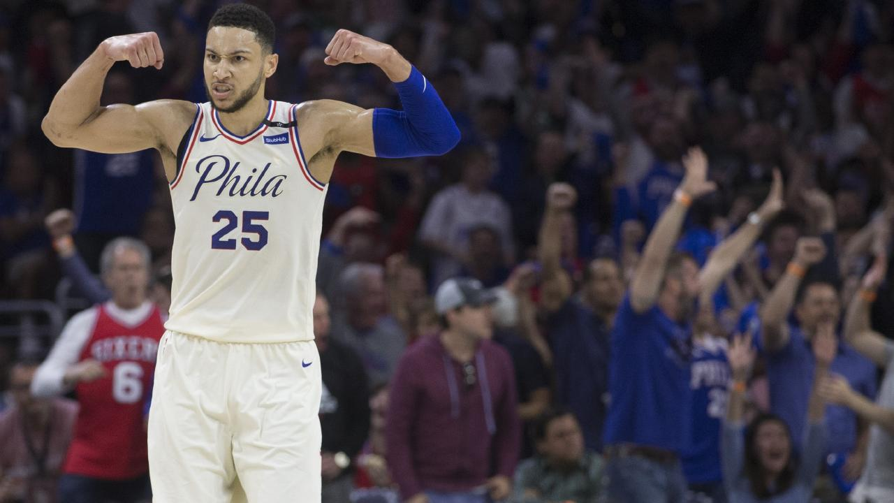 Ben Simmons was a rookie sensation with the Philadelphia 76ers.