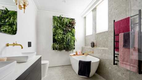 One of Hayden and Sara's bathrooms. Source: The Block