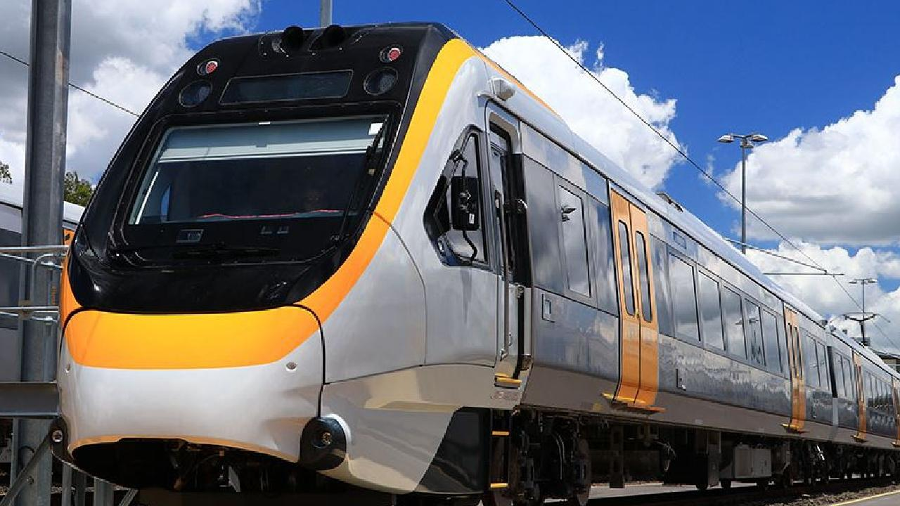 One of Queensland Rail's controversial New Generation Rollingstock trains.