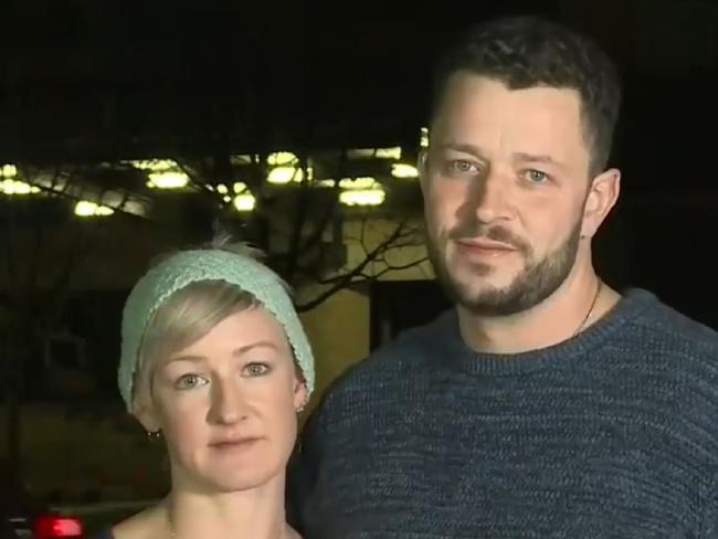 The parents of Phoenix Mapham.