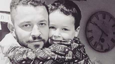 Cliff Mapham says he just wants his son returned home. Picture: Facebook