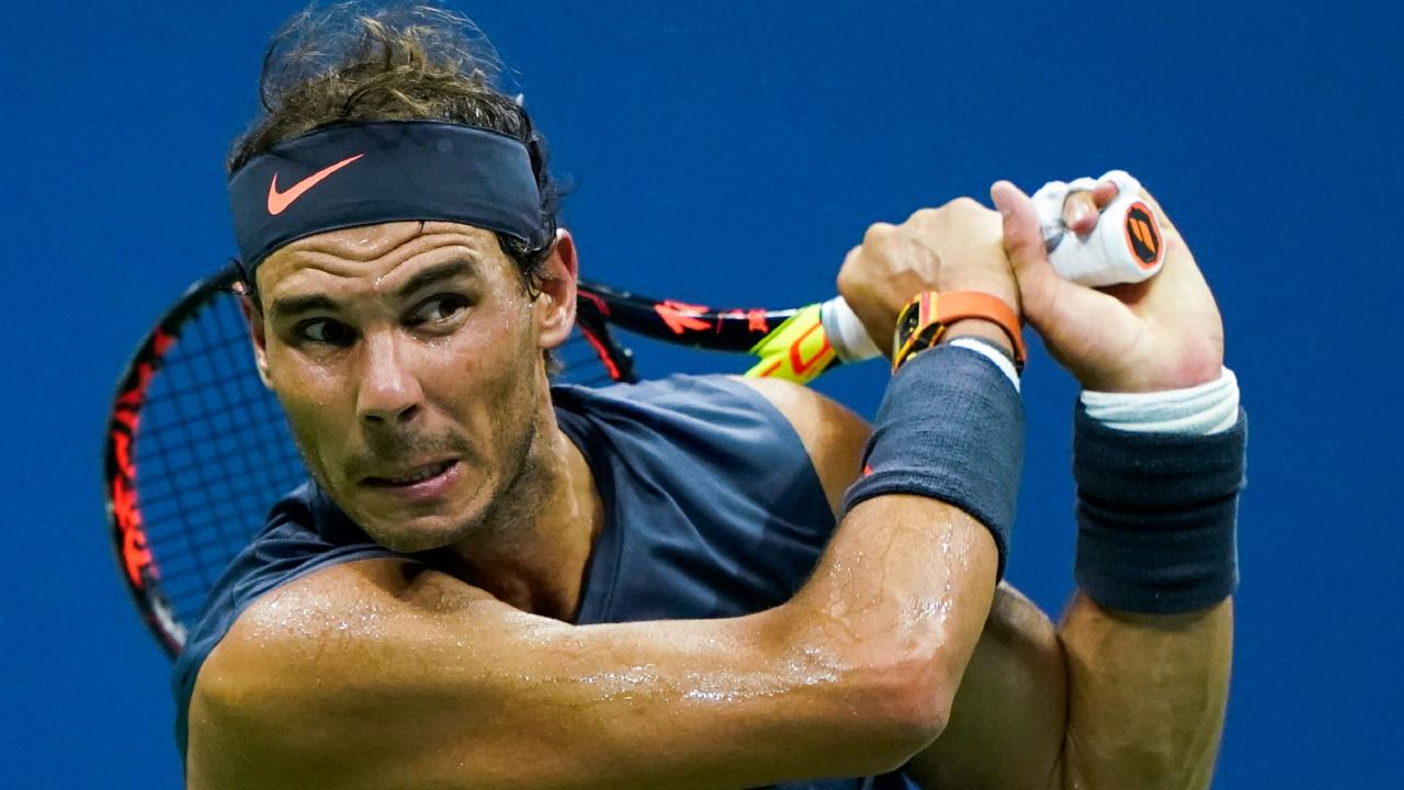 Spain's Rafael Nadal wins his second round match against Canada's Vasek Pospisil. (Photo by EDUARDO MUNOZ ALVAREZ / AFP)