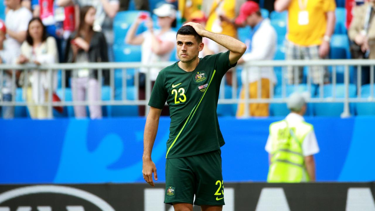 Rogic featured heavily in Bert van Marwijk's World Cup side.