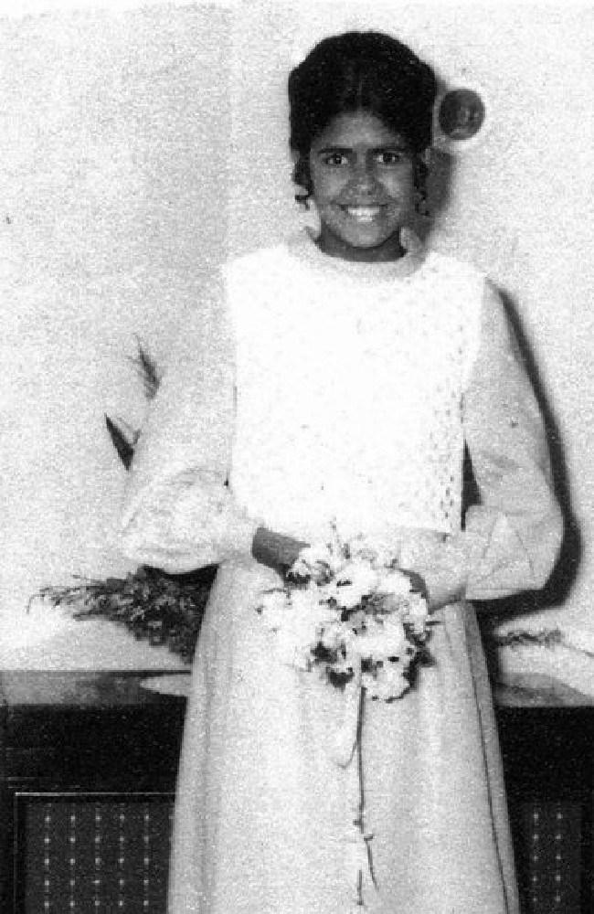 Tjanara Goreng Goreng aged 13 in 1971.