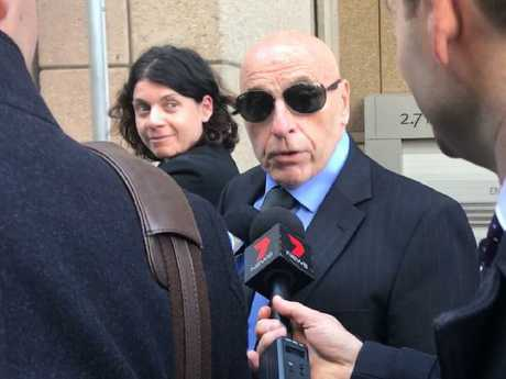Tom Domican leaving the Federal Court in Sydney today. Picture: Laura Polson
