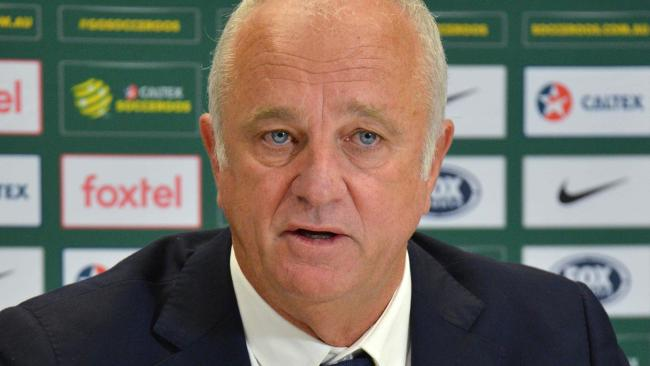 Socceroos coach Graham Arnold has gone with a mix of youth and experience. Picture: Peter Parks
