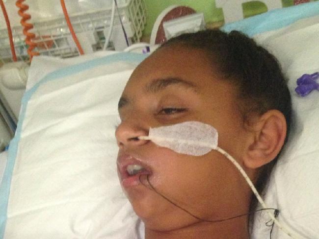 Denishar was left with a brain injury.