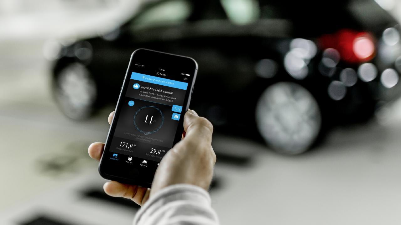 Mercedes-Benz EQ Ready app.