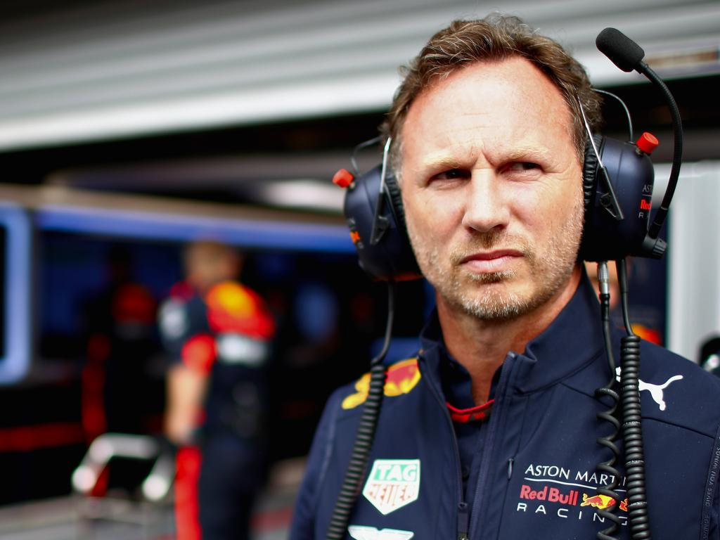 Red Bull Racing Team Principal Christian Horner. (Photo by Mark Thompson/Getty Images)