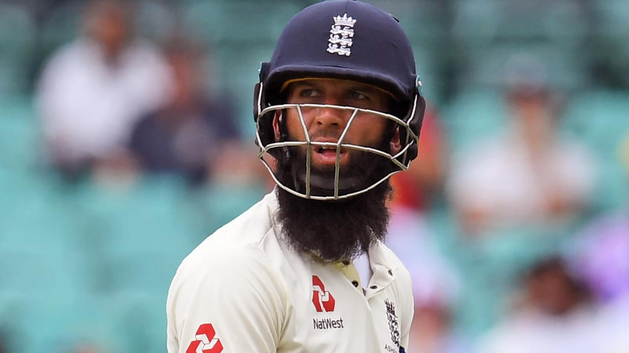 Moeen Ali was targeted by Australian players.