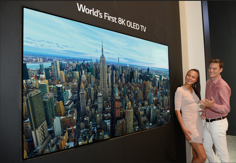 READY FOR 8K?: LG has unveiled what it is calling the world's first 8K OLED TV at the IFA technology show in Berlin.