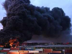 Major toxic fire spreads smoke across CBD