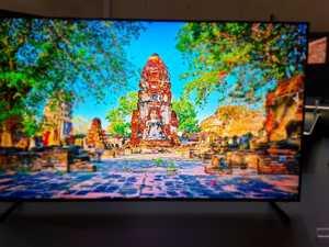 Samsung unveils 8K television