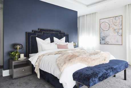 Hayden and Sara finally score a win with this stylish master bedroom.