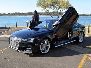 Audi S5 gets Lambo doors
