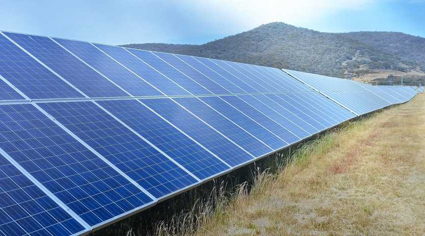 PROJECT COMING: Style of solar panels to be used on the solar farm in Moura.