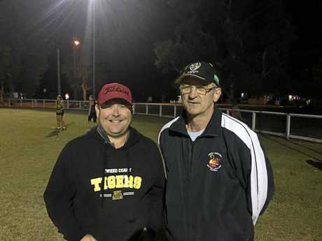 Coaches Luke Skinner and Shane Art are keeping a few tricks up their sleeve ahead of the Tigresses' big first finals clash against Byron.