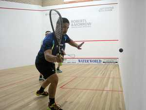 International squash kicks off in Coffs Harbour.