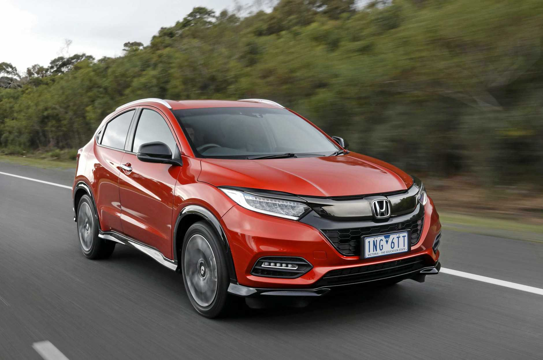 Honda has updated the HR-V for 2018, and introduced the RS model with improved driving dynamics.