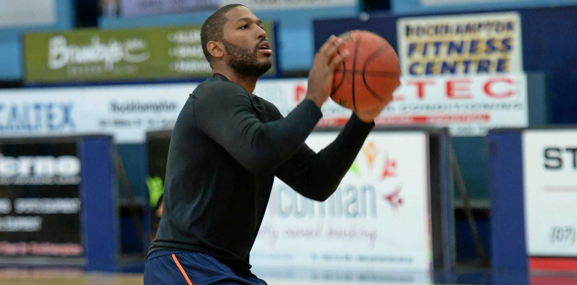 The CQUniversity Cairns Taipans hit the court at Hegvold Stadium this week before tonight's showdown with the Brisbane Bullets.
