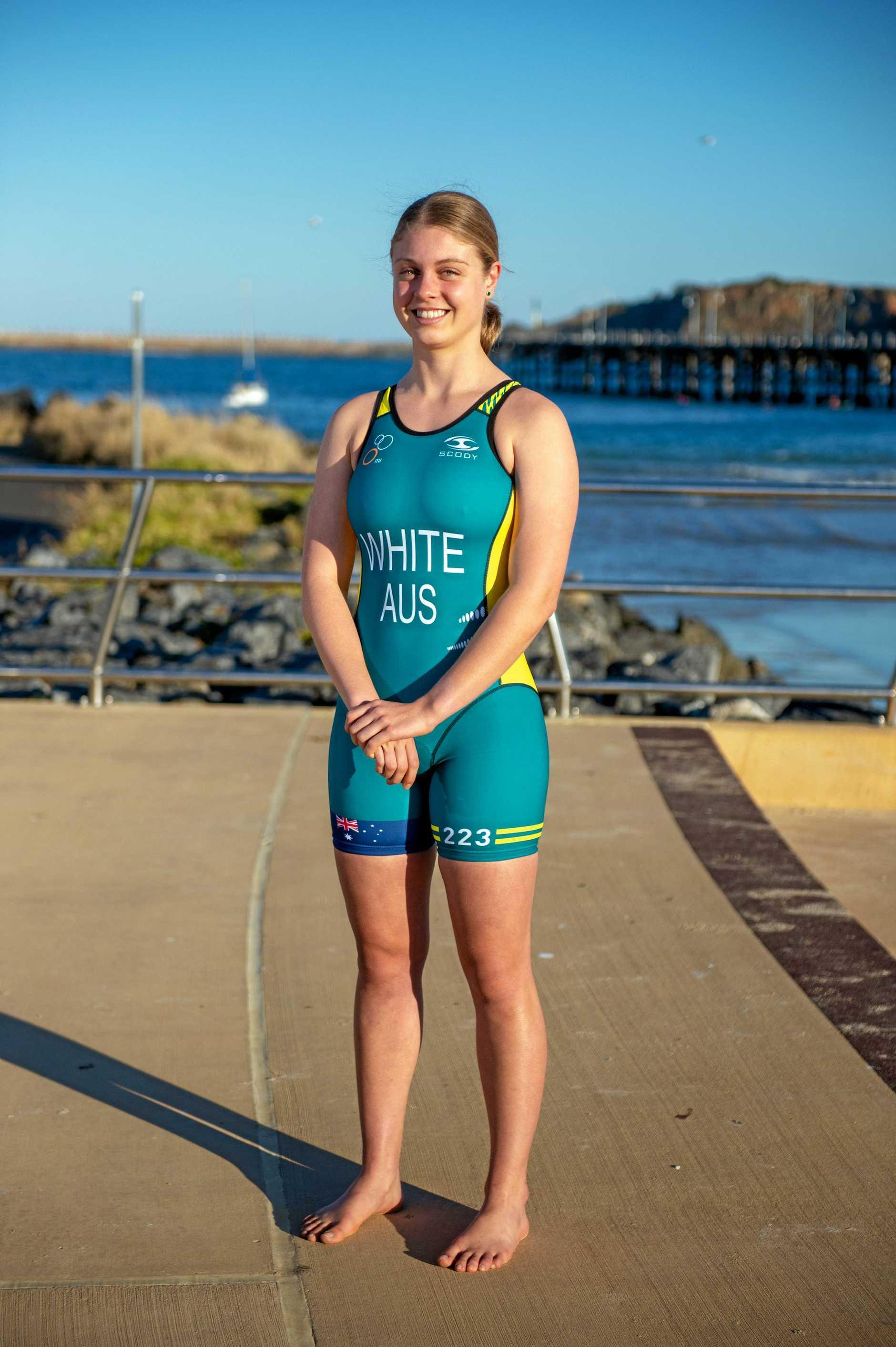 Coffs TRI team heading to Gold Coast for world titles.Bonnie White,. 30 AUG 2018