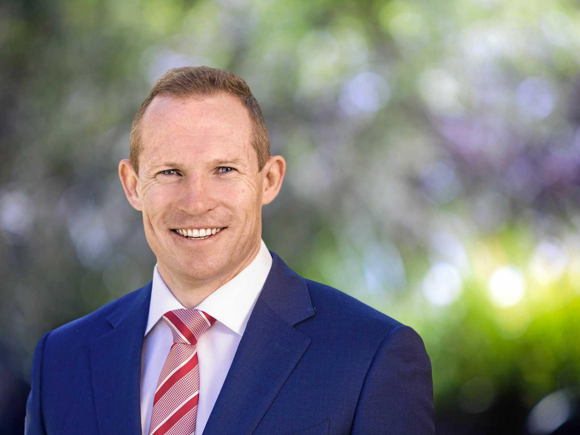 Queensland Housing Minister Mick De Brenni.