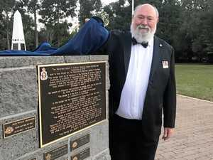 Plaques commemorate Nambour RSL Sub-Branch centenary