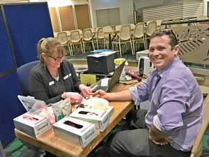 Saving lives: Council staff roll up their sleeves