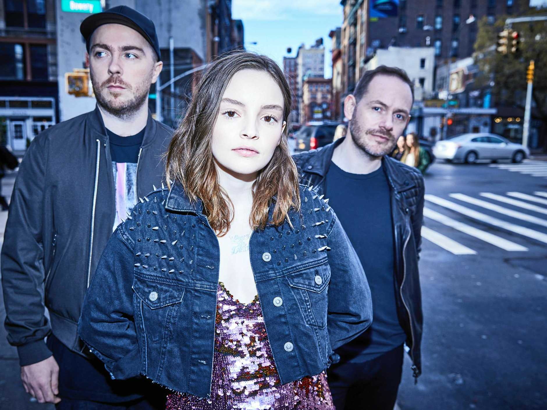 CHVRCHES have been announced in the Falls Festival line up.