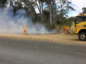 WARNING: Where Gympie is prone to bushfires this weekend