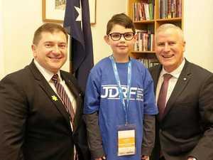 Murgon diabetes advocate visits parliament house
