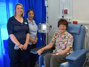Cancer patients rejoice as chemotherapy comes to Warwick