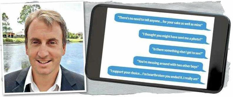 Richard Michael Espray, 44, groomed a 13-year-old girl via text message.