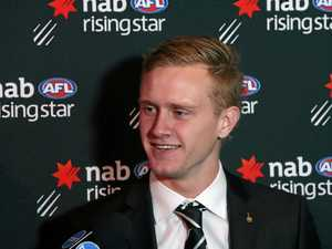 Historic win: Magpie takes out Rising Star award