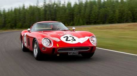 A 1962 Ferrari 250 GTO set record at auction last weekend.