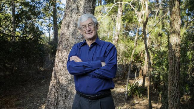 Dick Smith is the 2018 Australian Father of the Year. Picture: Hollie Adams/The Australian