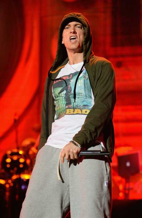Eminem has proved he is still one of the world's most popular rappers. Picture: Theo Wargo